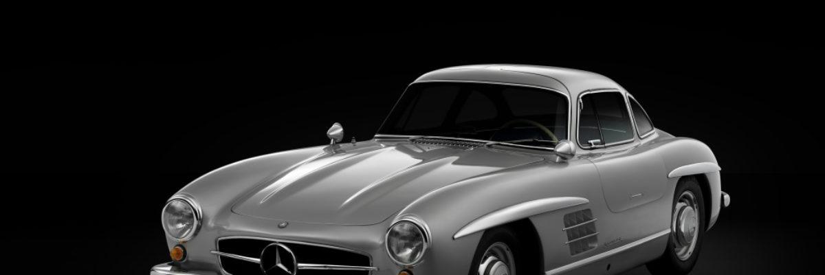 公道を走れるレーシングカー、メルセデス・ベンツ・300SL。「伝説の名車」と呼ばれるクルマの華麗なヒストリー