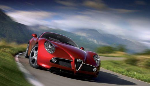 アルファロメオ渾身のスーパーカー、「8Cコンペティツィオーネ」!速さではなく「感性」を追求した、唯一無二の存在